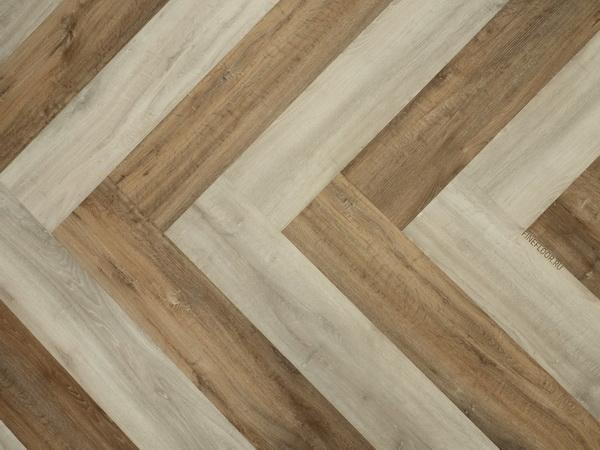 Виниловый пол Fine Floor Gear комбинирование декоров