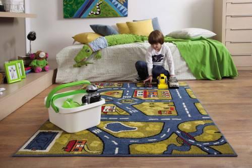 Кварцвиниловая плитка в детской
